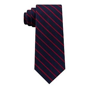 Mens Exotic Stripes Silk Tie