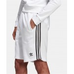 Mens French Terry Three-Stripe Shorts