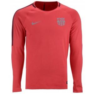 Mens FC Barcelona Long Sleeve Squad T-Shirt