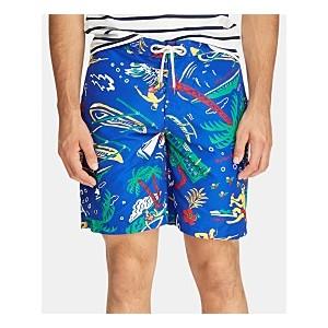 Mens Big & Tall Kailua Swim Trunks