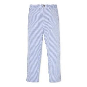 Big Boys Skinny-Fit Stretch Seersucker Pants
