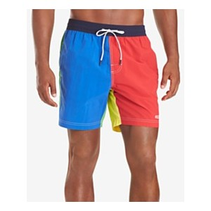 Mens Kevin Colorblocked 6-1/2 Swim Trunks