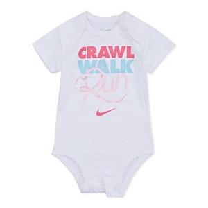 Baby Girls Run Graphic Bodysuit