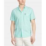 Mens Big & Tall Classic-Fit Gingham Shirt