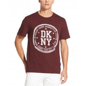 Mens Borough Stamp Logo Graphic T-Shirt