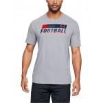 Mens Football Fade T-Shirt