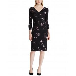 Petite Floral-Print Jersey Dress