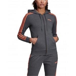 Essential Fleece 3-Stripe Zip Hoodie