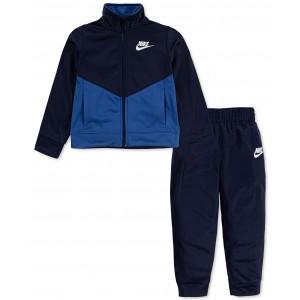 Little Boys 2-Pc. Colorblocked Jacket & Jogger Pants Set