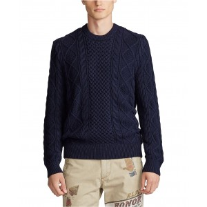 Mens Cotton Long Sleeve Sweater