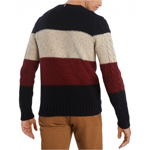 타미힐피거 Mens Columbia Sweater