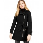 Asymmetrical Belted Coat, Created for Macys