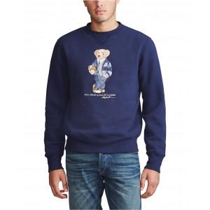 Mens Polo Bear Fleece Sweatshirt