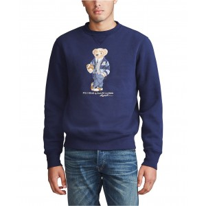 Mens Polo Bear Fleece Sweatshirt