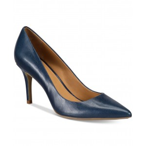 Womens Gayle Pointed-Toe Pumps
