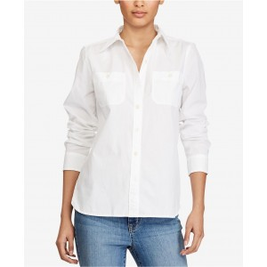 Cotton Button-Down Shirt