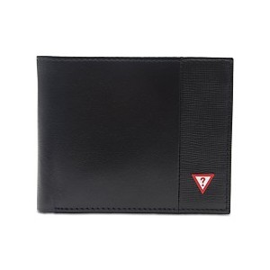 Mens Pieced-Leather RFID Wallet