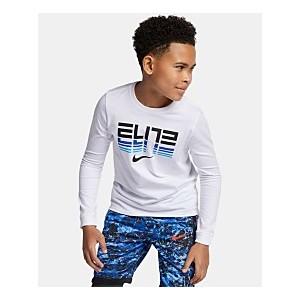 Big Boys Elite-Print Cotton T-Shirt