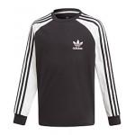 Adidas Big Boys Original 3-Stripes Long-Sleeve Shirt