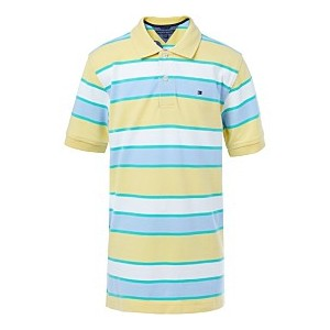 Big Boys Striped Cotton Polo