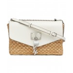 Elissa Woven Flap Shoulder Bag, Created for Macys