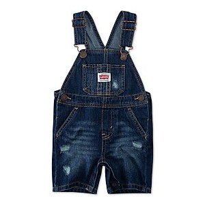 Baby Boys Cotton Denim Shortalls
