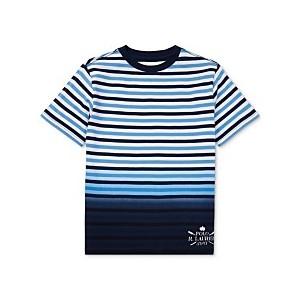Big Boys Ombre Striped Cotton T-Shirt