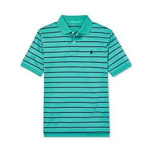 Big Boys Performance Lisle Polo Shirt