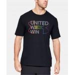 Under Amour Mens United We Win Pride Short Sleeve Tee