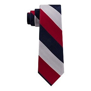 Mens Stripe Slim Tie, Created for Macys