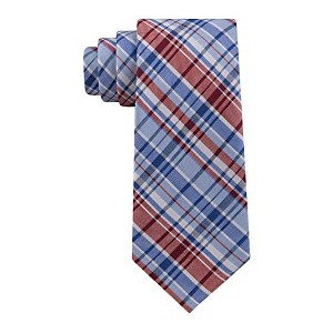 Mens Boston Plaid Tie