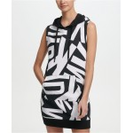 Sport Logo-Print Sleeveless Hoodie Dress, Created for Macys