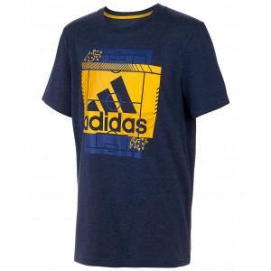 Big Boys Heathered Field Court T-Shirt