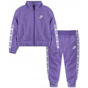 Baby Girls 2-Pc. Jacket & Jogger Pants Track Set