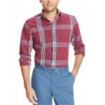 Mens Oscar Plaid Stretch Shirt