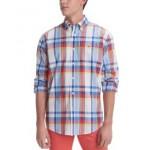 Mens Stretch Eames Plaid Shirt