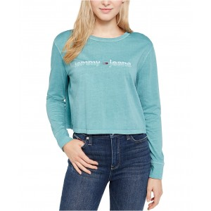 Cotton Stitched Logo T-Shirt