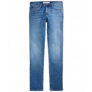 Calvin Klein Mens Straight Redford Stretch Jean