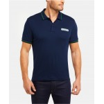 Mens Regular Fit Short Sleeve Jersey Polo Shirt with Lacoste Heritage Logo