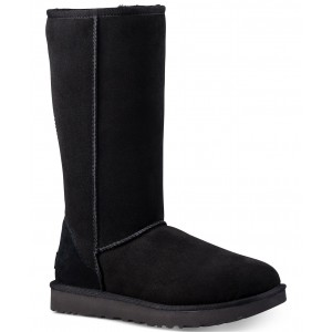 Womens Classic II Genuine Shearling Lined Tall Boot