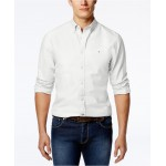 Mens Custom Fit New England Solid Oxford Shirt, Created for Macys
