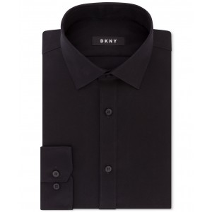 Mens Slim-Fit Stretch Solid Dress Shirt, Created for Macys