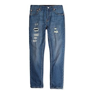 Big Boys 501 Skinny Distressed Jeans