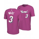 Mens Dwyane Wade Miami Heat Earned Edition Player T-Shirt