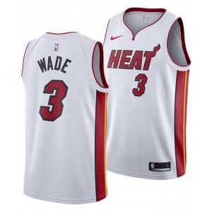 Mens Dwyane Wade Miami Heat Association Swingman Jersey