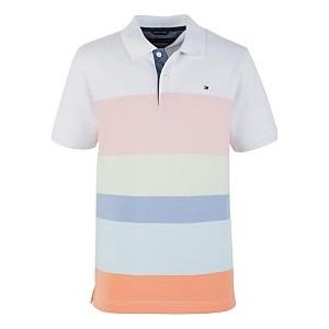 Big Boys Oxford Stripe Polo