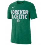 Mens Boston Celtics Team Essential Local Slogan Slub T-Shirt