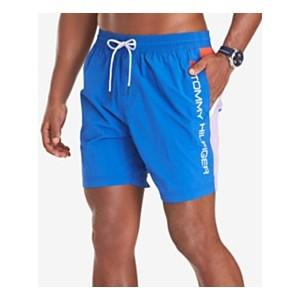 Mens Austin Quick-Dry Colorblocked 6-1/2 Swim Trunks