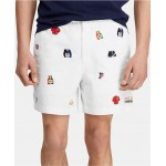 Mens Classic Fit Chariots 6 Polo Prepster Shorts