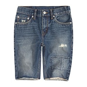 Big Boys 511 Distressed Slim Denim Shorts